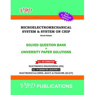 A text book of Micro Electromechanical System  System on Chip VBD