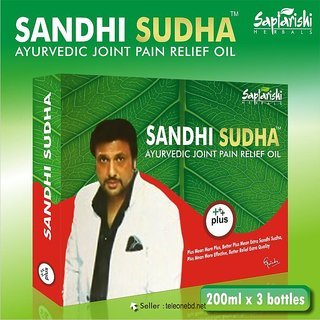 Saptarishi Sandhi Sudha Plus 3 Bottles Pack