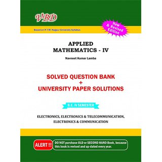 A text book of Applied Maths-IV (VBD)