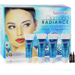 Nutriglow Dimond Radiance Deep Exfloating Facial Kit