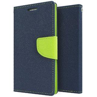 Feomy Mercury Goospery Fancy Diary Wallet Case for Motorola Moto G4 Plus / Moto G4 -Blue