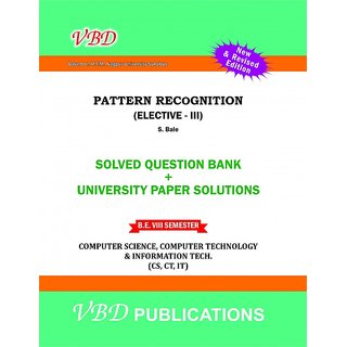 A text book of Pattern Recognition (ELE III) VBD