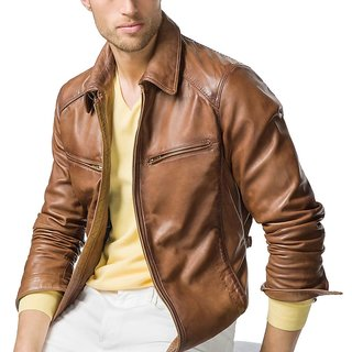 Mozri Pure Genuine Leather Men's Jacket