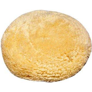 Wool Hand Pad  BCPP180 Yellow, White)
