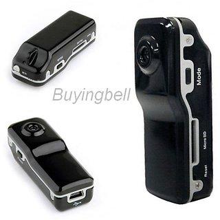 Mini Spy Camera Pocket Hidden audio Video Recorder Hidden Conceal DV DVR