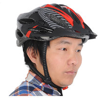 Futaba Bicycle MTB Adjustable Shockproof Helmet - Red