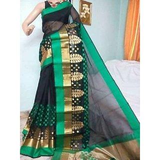 Ayan Silk Sarees - Retailer of monika cotton saree, silk sarees  cotton silk sarees in Varanasi, Uttar Pradesh.