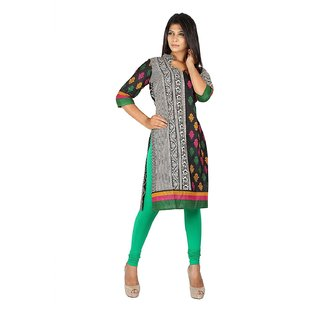 EERA Churidaar Leggings Green