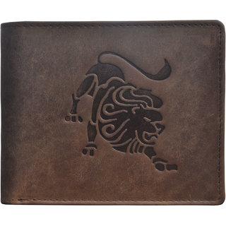 Tamanna Men Brown Genuine Leather Wallet