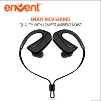Envent LiveFit 510 Bluetooth Sports Eraphone with Mic-Black