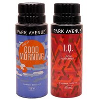 Park Avenue Good Morning, IQ Pack Of 2 Deodorants