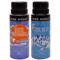 Park Avenue Cool Blue, Good Morning Pack Of 2 Deodorants