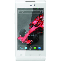 XOLO A500S Android Mobile Android V4.2 Jelly Bean / 3G  (White Color)