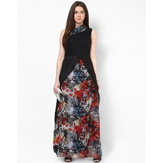 Raabta Women's Printed Maxi Dress RDW 11000