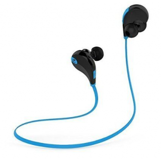 bingo s1 blue black wired sporty bluetooth headset with mic buy bingo s1 blue black wired. Black Bedroom Furniture Sets. Home Design Ideas