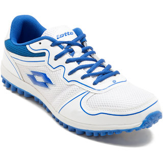 Lotto Verve Men's White and Blue Sports Shoes