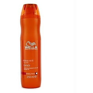 Wella - Enrich Moisturizing Shampoo For Dry Damaged Hair (Normal/ Thick) - 250ml/8.4oz
