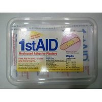 Cipla Wash Proof Medicated Adhesive Plasters- Pack of 100 Strips