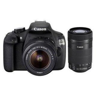 Canon EOS 1200D DSLR (with 18-55mm IS ll 55-250mm IS ll 50mm Lens)