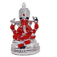 Silver Plated Siddhi Vinayak Ganpati