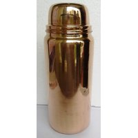3 Piece Copper Water Thermos (Bottle), 1600 Ml, For Great Mind And Healthy Body
