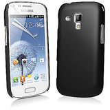 Samsung 7562 Black Hybrid Hard Back Case Cover For Samsung Galaxy S Duos 7262