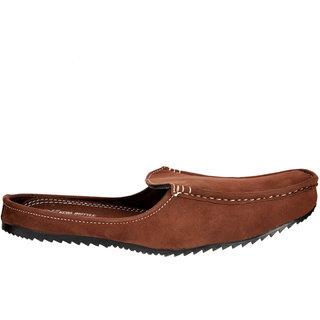Kewl Instyle Brown In Trend Men's Slip On Loafer