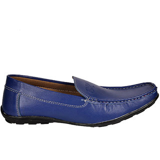 Kewl Instyle Blue Nice Men's Slip On Loafer
