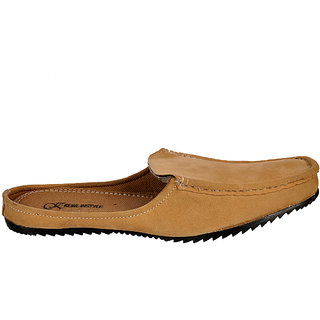 Kewl Instyle Tan Chic Men's Slip On Loafer
