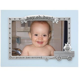 Malden Boy Oh Boy Juvenile Picture Frame in Blue