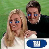 New York Giants NFL Eyeblack Strips