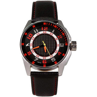 Fastrack Black Dial Mens Analog Watch 3089SL12