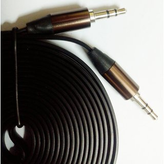 Cellphonez Cellphonez 3.5mm Male- Male -High Quality Gold Plated EP Stereo Auxiliary AUX Audio Cable - 3 Meters / 9 Fee