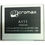 High Quality Battery For Micromax Canvas A111 3000 MAh [CLONE]