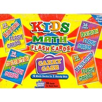 Math Flash Cards In Carry Case