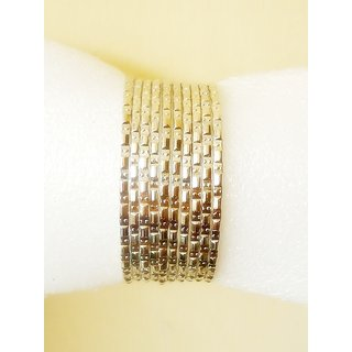 FASHIONABLEGERMAN SILVER MULTILAYERED  BRACELET-FITS ALL