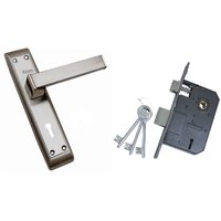 ATOM Polo Mortice Door Handle Set with Double Action Lock