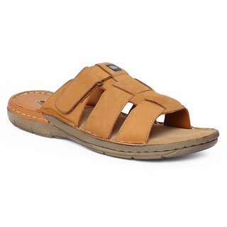 Red Chief MenS RC1360A RUST Slippers