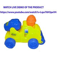 CEMENT MIXER TRUCK WITH LIGHT  MUSIC STRING TOY (ASSORTED)