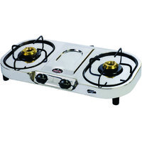 Signoracare Stainless Steel Gas Stove Two (2) Burner