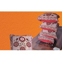 Deal Wala Pack Of 5 Designer Cushion Covers - Design 3