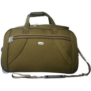 Timus Green 2 (Upright) Wheels 21-25 inches Duffle Bag