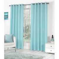 BSB Trendz Plain Pack Of 2 Window Curtain (P-102)