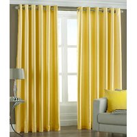 BSB Trendz Plain Pack Of 2 Window Curtain (P-105)