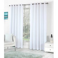BSB Trendz Plain Pack Of 2 Window Curtain (P-94)