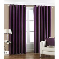 BSB Trendz Plain Pack Of 2 Window Curtain (P-97)