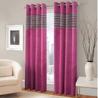 BSB Trendz Panle Print Single Door Curtain (PS-128)