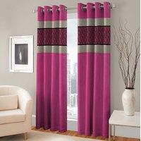 BSB Trendz Panle Print Single Door Curtain (PS-138)