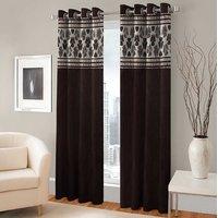 BSB Trendz Panle Print Single Door Curtain (PS-140)