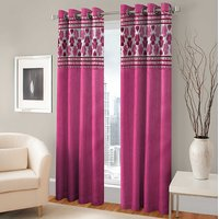 BSB Trendz Panle Print Single Door Curtain (PS-141)